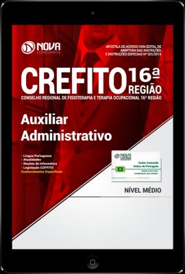 Download Apostila CREFITO 16ª Região PDF - Auxiliar Administrativo