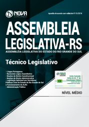 Apostila Assembléia Legislativa - RS - Técnico Legislativo