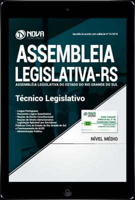 Download Apostila Assembléia Legislativa - RS PDF - Técnico Legislativo