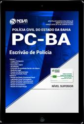 Download Apostila PC-BA PDF - Escrivão de Polícia