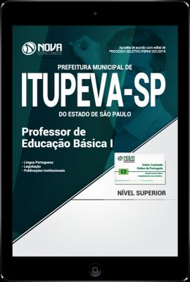 Download Apostila Prefeitura de Itupeva - SP PDF - Professor de Educação Básica I