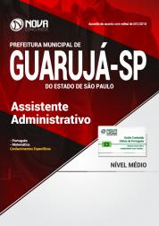 Apostila Prefeitura de Guarujá - SP - Assistente Administrativo