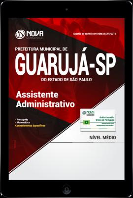Download Apostila Prefeitura de Guarujá - SP PDF - Assistente Administrativo