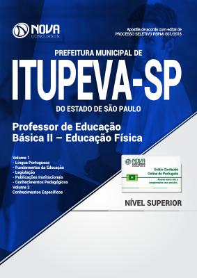 Apostila Prefeitura de Itupeva - SP - Professor de Educação Básica II - Educação Física