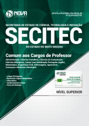 Apostila SECITEC-MT - Comum aos Cargos de Professor