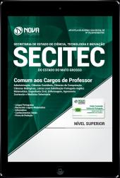 Download Apostila SECITEC-MT PDF - Comum aos Cargos de Professor