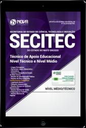 Download Apostila SECITEC-MT PDF - Técnico de Apoio Educacional (Nível Médio e Técnico)