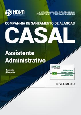 Apostila CASAL-AL (Jovem Aprendiz) - Assistente Administrativo