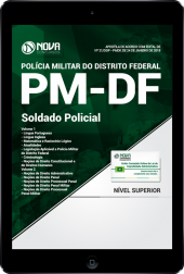 Download Apostila PM-DF PDF - Soldado Policial