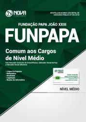 Apostila FUNPAPA-PA - Comum aos Cargos de Nível Médio