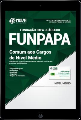 Download Apostila FUNPAPA-PA PDF - Comum aos Cargos de Nível Médio
