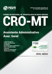 Apostila CRO-MT - Assistente Administrativo - Geral