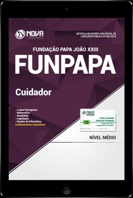 Download Apostila FUNPAPA-PA PDF - Cuidador