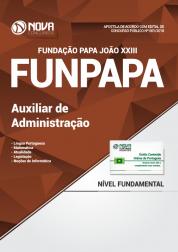 Apostila FUNPAPA-PA - Auxiliar de Administração