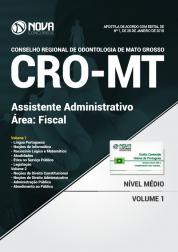 Apostila CRO-MT - Assistente Administrativo - Fiscal