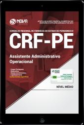 Download Apostila CRF-PE PDF - Assistente Administrativo Operacional