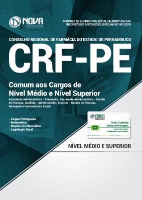 Apostila CRF-PE - Comum aos Cargos de Nível Médio e Superior