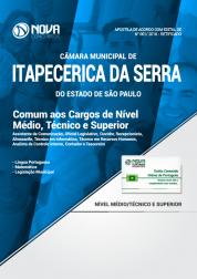 Apostila Câmara de Itapecerica da Serra - SP - Comum aos Cargos de Nível Médio, Técnico e Superior