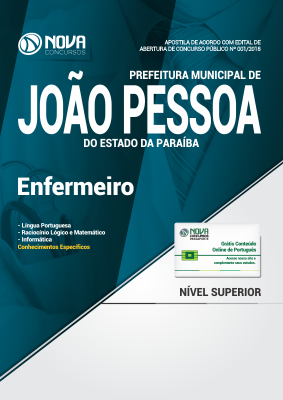 Apostila Prefeitura de João Pessoa - PB - Enfermeiro
