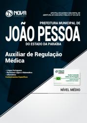 Apostila Prefeitura de João Pessoa - PB - Auxiliar de Regulação Médica