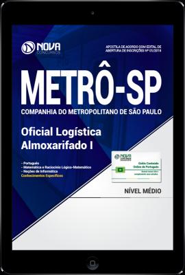 Download Apostila METRÔ-SP PDF - Oficial Logística Almoxarifado I