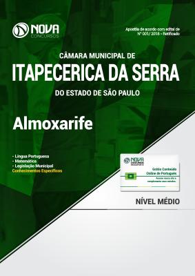 Apostila Câmara de Itapecerica da Serra - SP - Almoxarife
