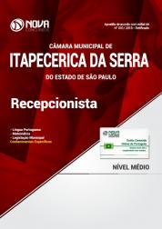 Apostila Câmara de Itapecerica da Serra - SP - Recepcionista
