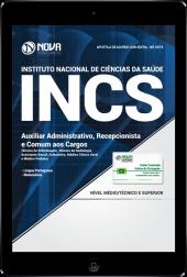 Download Apostila INCS-SP PDF - Auxiliar Administrativo, Recepcionista e Comum aos Cargos