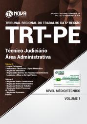 Apostila TRT-PE 6 ª Região - Técnico Judiciário - Área Administrativo