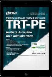 Download Apostila TRT-PE 6ª Região PDF - Analista Judiciário - Área Administrativa