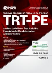 Apostila TRT-PE - Analista Judiciário - Área Judiciária - Especialidade Oficial de Justiça Avaliador Federal