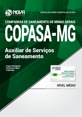 Apostila COPASA - MG - Auxiliar de Serviços de Saneamento