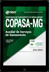 Download Apostila COPASA - MG PDF - Auxiliar de Serviços de Saneamento
