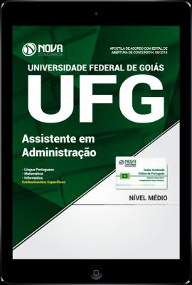 Download Apostila UFG-GO PDF - Assistente em Administração