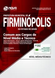 Apostila Prefeitura de Firminópolis - GO - Comum aos Cargos de Nível Médio e Técnico