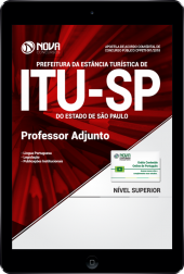 Download Apostila Prefeitura de Itu - SP PDF - Professor Adjunto
