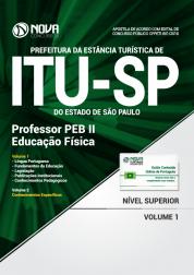 Apostila Prefeitura de Itu - SP - Professor PEB II – Educação Física