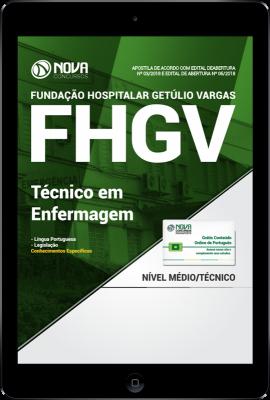 Download Apostila FHGV PDF - Técnico em Enfermagem