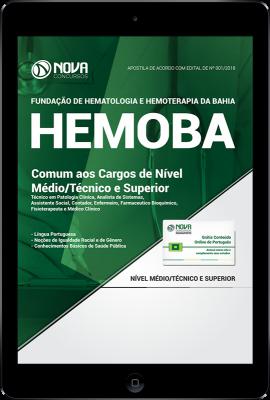 Download Apostila HEMOBA PDF - Comum aos Cargos de Nível Médio/Técnico e Superior
