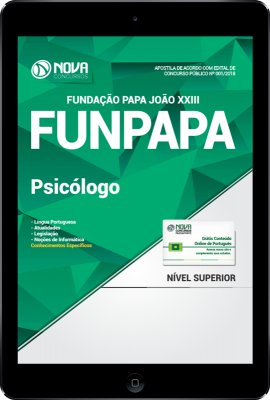 Download Apostila FUNPAPA-PA PDF - Psicólogo
