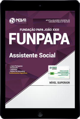 Download Apostila FUNPAPA-PA - Assistente Social