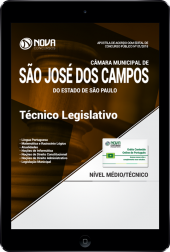 Download Apostila Câmara Municipal de São José dos Campos - SP PDF - Técnico Legislativo