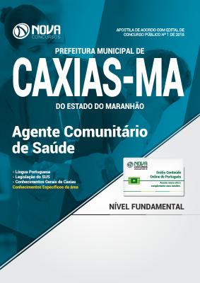 Apostila Prefeitura de Caxias - MA - Agente Comunitário de Saúde