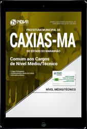 Download Apostila Prefeitura de Caxias - MA PDF - Comum aos Cargos de Nível Médio/Técnico