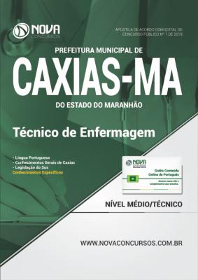 Apostila Prefeitura de Caxias - MA - Técnico em Enfermagem