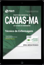 Download Apostila Prefeitura de Caxias - MA PDF - Técnico em Enfermagem