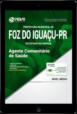 Download Apostila Prefeitura de Foz do Iguaçu - PR PDF - Agente Comunitário de Saúde