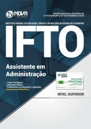 Apostila IFTO - Assistente em Administração