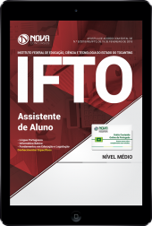 Download Apostila IFTO PDF - Assistente de Aluno