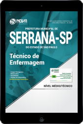 Download Apostila Prefeitura de Serrana - SP PDF - Técnico de Enfermagem